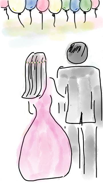【二人の出会い】成人式の同窓会で中学の初恋実る、俺「け、け、結婚してください」