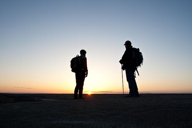 【二人の出会い】登山してるときに、嫁子に出会った。女の子がガチ装備で単独行・・・。